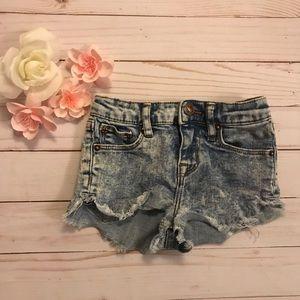 Hudson jeans toddler cut off shorts